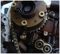 camshaft adjustment gear